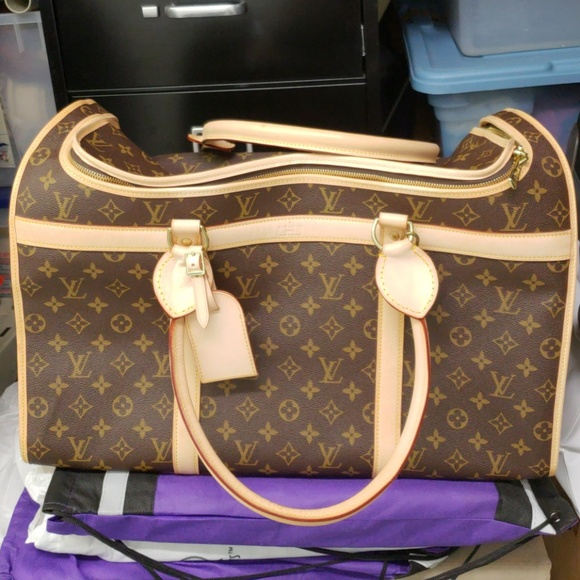 c3831f92a3c Louis Vuitton Handbags - AUTHENTIC LOUIS VUITTON DOG CARRIER LARGE